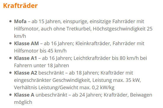 fuhrpark für  Weissach (Tal)