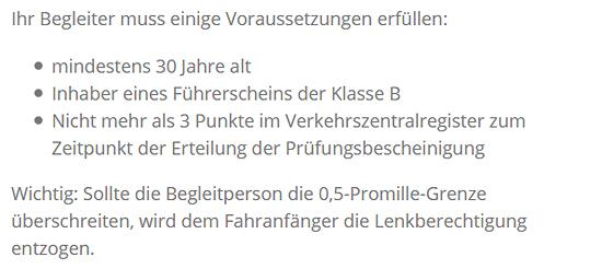 klasse c1e für 71554 Weissach (Tal)